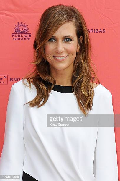 Kristen Wiig attends the 'Imogene' Paris Premiere as part of The Champs Elysees Film Festival 2013 at Publicis Champs Elysees on June 18, 2013 in...