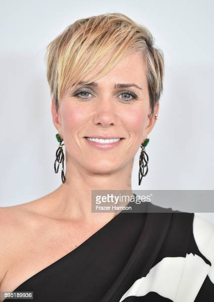 Kristen Wiig attends the Los Angeles Special Screening of 'Downsizing' at The Regency Village Theatre on December 18 2017 in Westwood CA