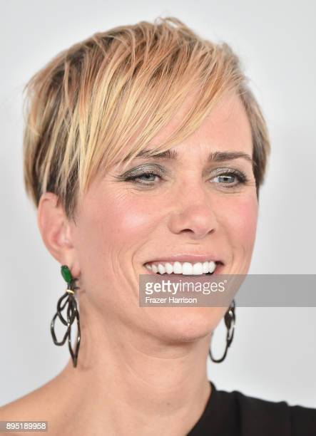 Kristen Wiig attends the Los Angeles Special Screening of 'Downsizing' at The Regency Village Theatre onDecember 18 2017 in Westwood CA