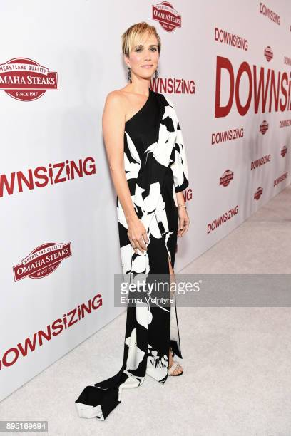 Kristen Wiig attends the premiere of Paramount Pictures' Downsizing at Regency Village Theatre on December 18 2017 in Westwood California