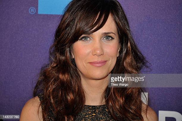 """Kristen Wiig attends the premiere of """"Revenge for Jolly!"""" during the 2012 Tribeca Film Festival at Chelsea Clearview Cinemas on April 21, 2012 in New..."""