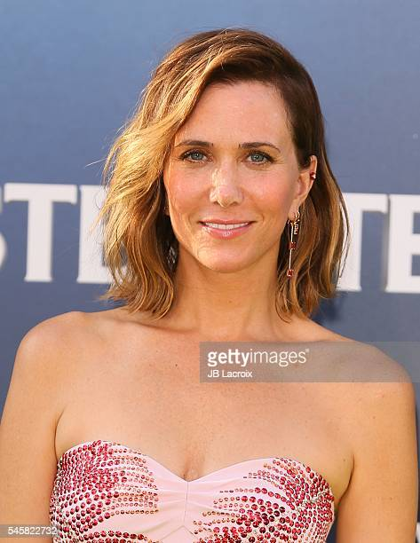 Kristen Wiig attends the premiere of Sony Pictures' 'Ghostbusters' on July 9 2016 in Hollywood California
