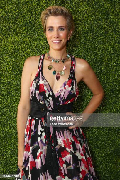 """Kristen Wiig attends the Premiere Of Universal Pictures And Illumination Entertainment's """"Despicable Me 3"""" at The Shrine Auditorium on June 24, 2017..."""
