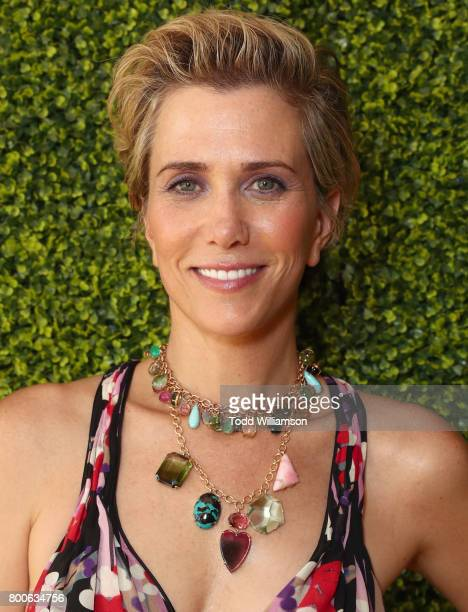 Kristen Wiig attends the Premiere Of Universal Pictures And Illumination Entertainment's Despicable Me 3 at The Shrine Auditorium on June 24 2017 in...