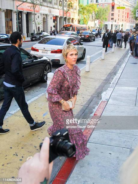 Kristen Wiig is seen on May 13 2019 in Los Angeles California