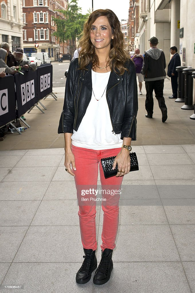 Kristen Wiig sighted at BBC Radio studios on June 20, 2013 in London, England.