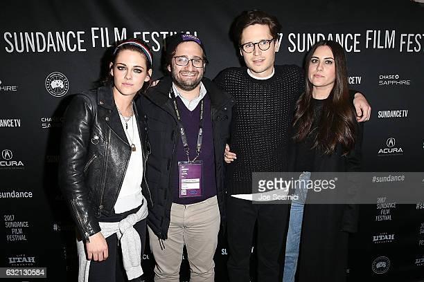 Kristenb Stewart David Shapiro Josh Kaye and Sydney Lopez attend the World Premiere of Director Kristen Stewart's 'COME SWIM' from Refinery29 and...