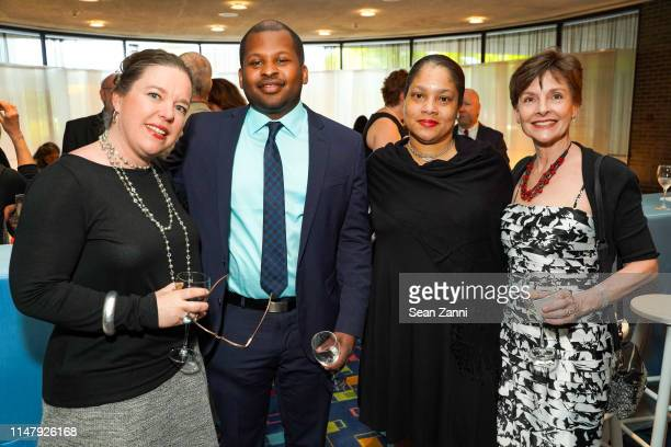 Kristi McKee Dayton Tucker Jerima De Wese and Barbara Moore attend the Thomas J Schwarz Celebration 17 Years at Purchase College Performing Arts...