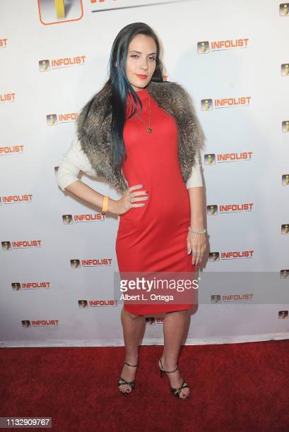 Kristi Tucker arrives for PreOscar Soiree Hosted By INFOListcom and Birthday Celebration for Founder Jeff Gund held at SkyBar at the Mondrian Los...