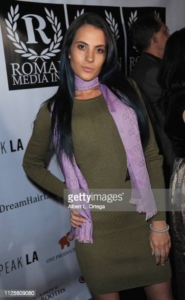 Kristi Tucker arrives for Roman Media's 5th Annual Hollywood Event A Celebration of Women and Diversity in Film held at St Felix on February 18 2019...