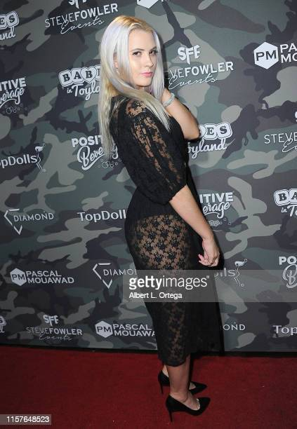 Kristi Tucker attends the 4th Annual Babes In Toyland Support Our Troops Charity Event held at Academy LA on July 24 2019 in Los Angeles California