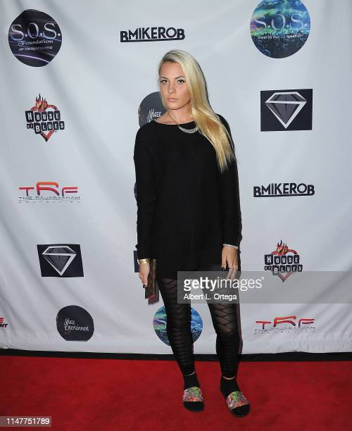 Kristi Tucker attends the SOS Pre Tour Launch Party held at The Roxy Theatre on June 2 2019 in West Hollywood California