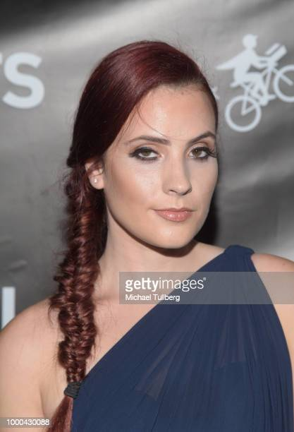 Actor Sierra Nowak attends VaynerSports' 2nd Annual Celebrity ESPY's KickOff Party at Dream Hotel on July 16 2018 in Hollywood California