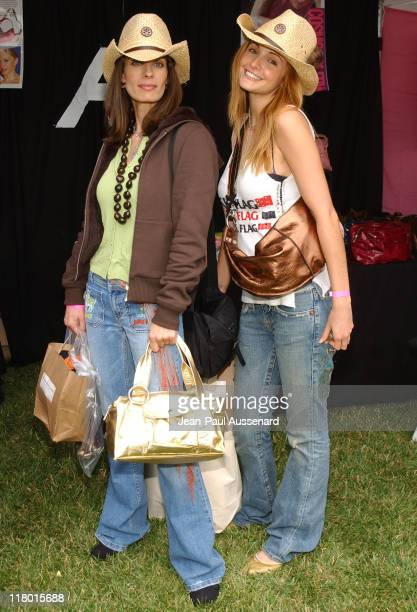 Kristian Alfonso and Alexis Thorpe at Allison Burns Photo by JeanPaul Aussenard/WireImage for Silver Spoon