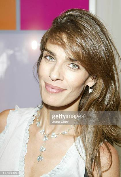 Kristian Alfonso at Avon during Avon at the Silver Spoon Hollywood Buffet Day Two at Private Estate in Los Angeles California United States Photo by...