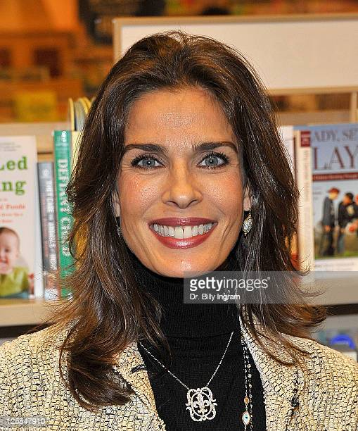 Kristian Alfonso attends 'Days Of Our Lives 45 Years A Celebration in Photos' book signing event at Barnes Noble bookstore at The Grove on November...