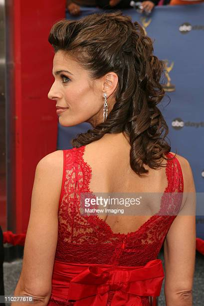 Kristian Alfonso during 33rd Annual Daytime Emmy Awards Arrivals at Kodak Theater in Hollywood California United States