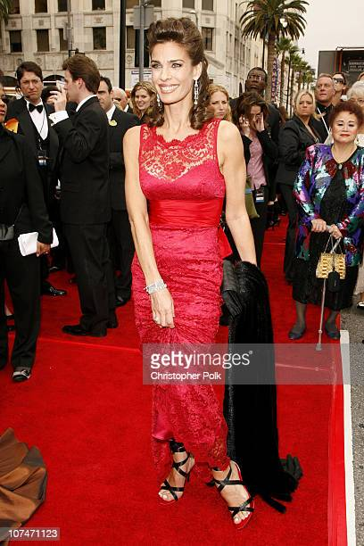 Kristian Alfonso during 33rd Annual Daytime Emmy Awards Red Carpet at Kodak Theater in Hollywood California United States