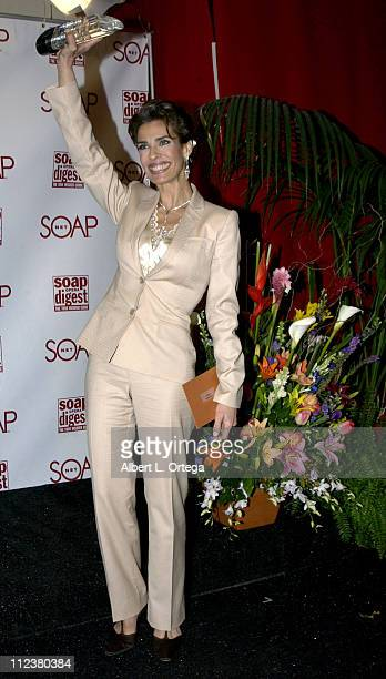 Kristian Alfonso during Soapnet Presents The Soap Opera Digest Awards Press Room at ABC Prospect Studios in Los Angeles California United States
