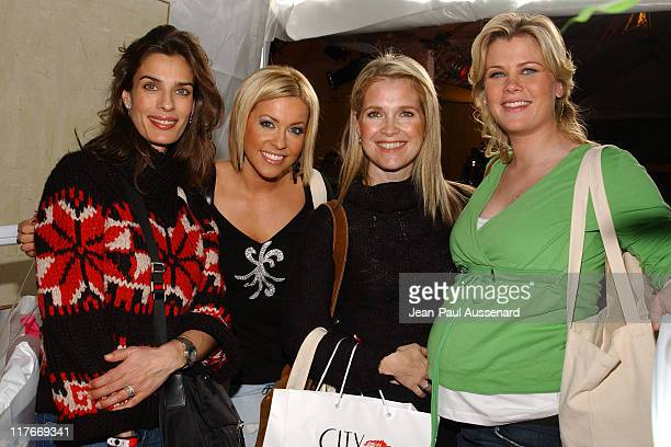 Kristian Alfonso Farah Fath Melissa Reeves and Alison Sweeney Photo by JeanPaul Aussenard/WireImage for Silver Spoon