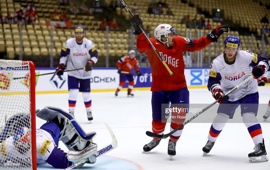 Korea v Norway - 2018 IIHF Ice Hockey World Championship
