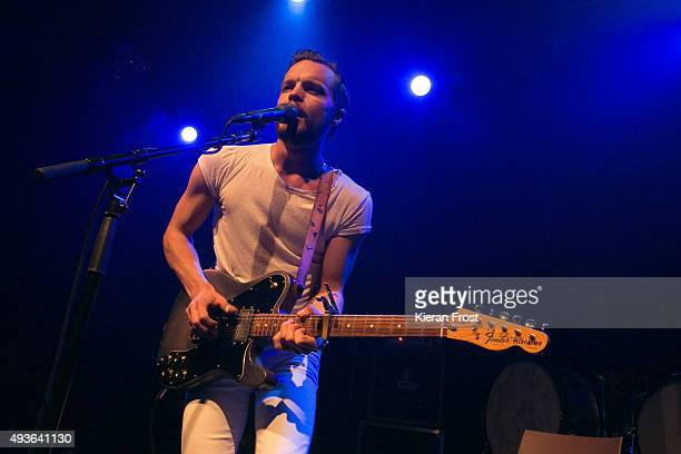Kristian Matsson aka The Tallest Man on Earth performs at Vicar Street on October 21, 2015 in Dublin, Ireland.
