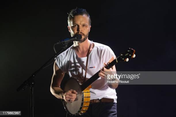 Kristian Matsson aka The Tallest Man on Earth performs on stage at Usher Hall on November 3 2019 in Edinburgh Scotland