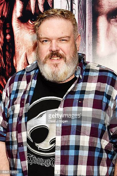 Kristian Nairn attends a special screening of 'Warcraft The Beginning' at BFI IMAX on May 25 2016 in London England