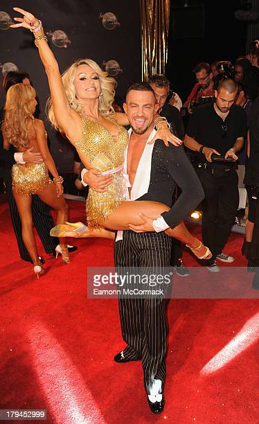 Kristian Rihanoff and Robin Windsor attend the red carpet launch for Strictly Come Dancing at Elstree Studios on September 3 2013 in Borehamwood...