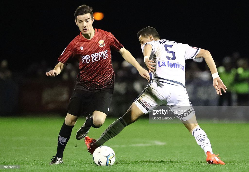 FFA Cup Round of 16 - Hume City v Melbourne Victory : News Photo