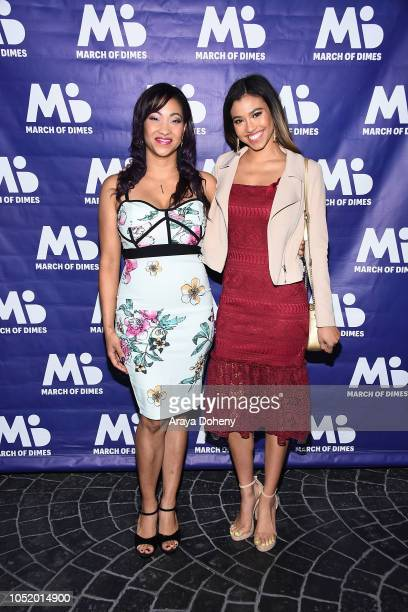 Kristie Lacy and Kara Royster attend the March of Dimes Signatures Chefs Auction Los Angeles on October 11 2018 in Beverly Hills California