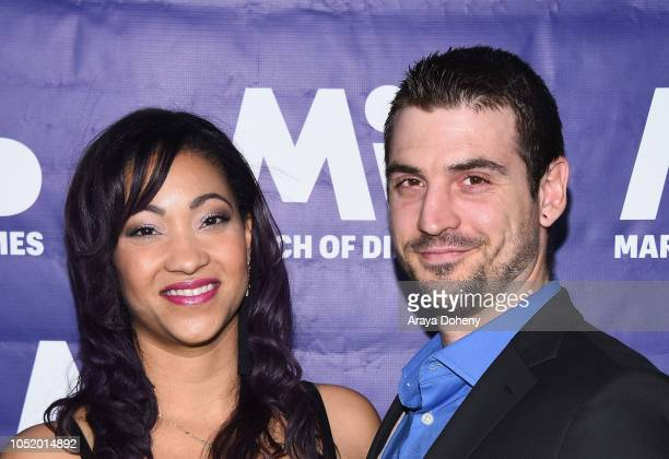 Kristie Lacy and Michael Lacy attend the March of Dimes Signatures Chefs Auction Los Angeles on October 11 2018 in Beverly Hills California