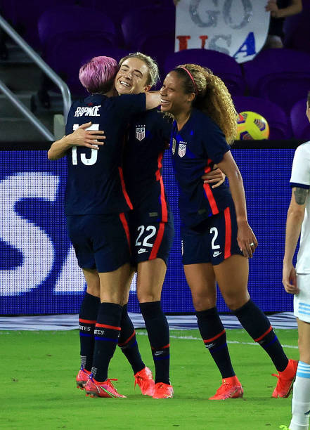 FL: 2021 SheBelieves Cup - United States v Argentina