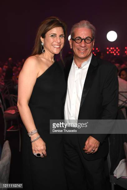 Kristie Nicolosi and Steven Lagos attend the 24th annual Keep Memory Alive 'Power of Love Gala' benefit for the Cleveland Clinic Lou Ruvo Center for...