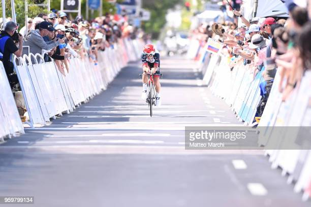 Kristijan Durasek of Croatia and Team UAE Team Emirates rides during stage four of the 13th Amgen Tour of California 2018 San Jose / Morgan Hill a...
