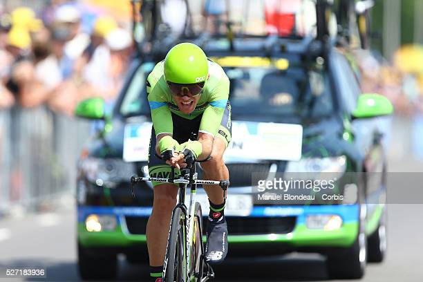 Kristijan Koren of Slovenia riding for Team Cannondale-Garmin during the 2015 Tour of France, Stage 1, Individual Time Trial, Utrech - Utrech , on...