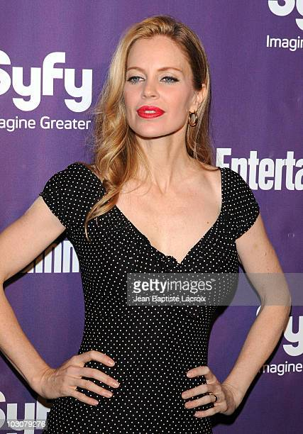 Kristin Bauer attends the EW and SyFy party during Comic-Con 2010 at Hotel Solamar on July 24, 2010 in San Diego, California.
