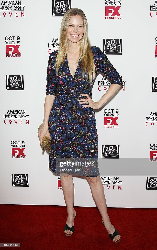 Kristin Bauer van Straten arrives at the premiere of FX's 'American Horror Story: Coven' held at Pacific Design Center on October 5, 2013 in West Hollywood, California.