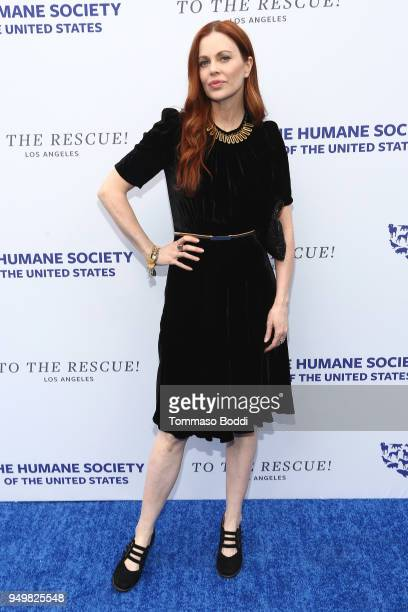 Kristin Bauer van Straten attends The Humane Society Of The United States' To The Rescue Los Angeles Gala at Paramount Studios on April 21 2018 in...