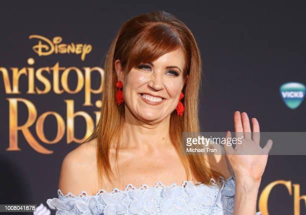 "Kristin Burr attends the Los Angeles premiere of Disney's ""Christopher Robin"" held at Walt Disney Studios on July 30, 2018 in Burbank, California."