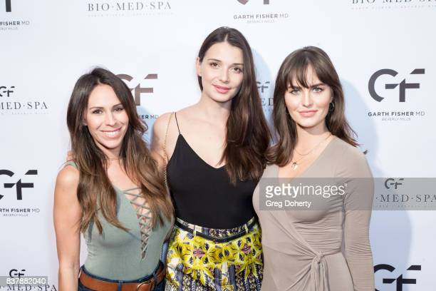 Kristin Campbell Dashenka Giraldo and Alexandra Wagner attend the Official Launch Party Of Dr Garth Fisher's BioMed Spa at Garth Fisher MD on August...