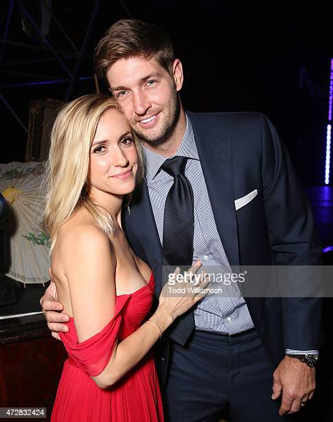 Kristin Cavallari and Jay Cutler attend the JDRF LA 2015 Imagine Gala at the Hyatt Regency Century Plaza on May 9 2015 in Century City California