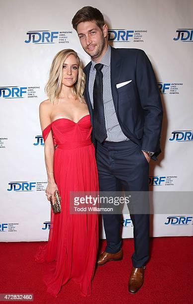 Kristin Cavallari and Jay Cutler attend the JDRF LA 2015 Imagine Gala at the Hyatt Regency Century Plaza on May 9 2015 in Century City California