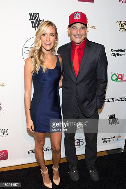 Kristin Cavallari and Phillip Bloch attend Junk Food Vintage NFL curated by Kristin Cavallari during Spring/Summer 2014 Collections at STYLE360...