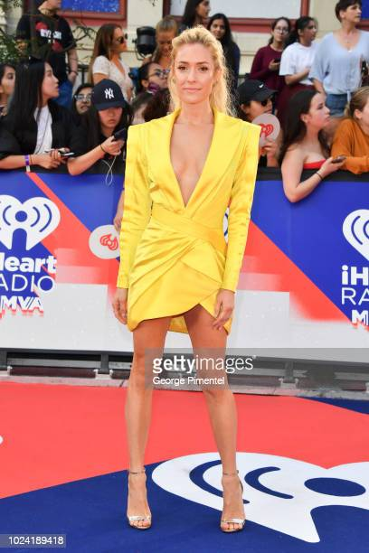 Kristin Cavallari arrives at the 2018 iHeartRADIO MuchMusic Video Awards at MuchMusic HQ on August 26 2018 in Toronto Canada