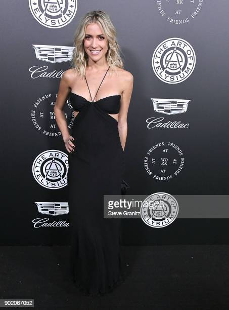 Kristin Cavallari arrives at the The Art Of Elysium's 11th Annual Celebration Heaven on January 6 2018 in Santa Monica California