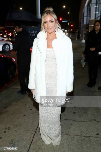 Kristin Cavallari attends Michael Muller's HEAVEN presented by The Art of Elysium on January 5 2019 in Los Angeles California