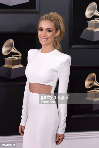 Kristin Cavallari attends the 60th Annual GRAMMY Awards Arrivals at Madison Square Garden on January 28 2018 in New York City