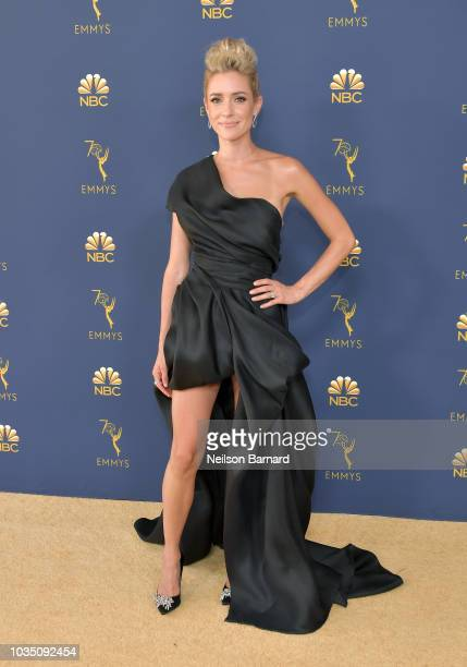 Kristin Cavallari attends the 70th Emmy Awards at Microsoft Theater on September 17 2018 in Los Angeles California