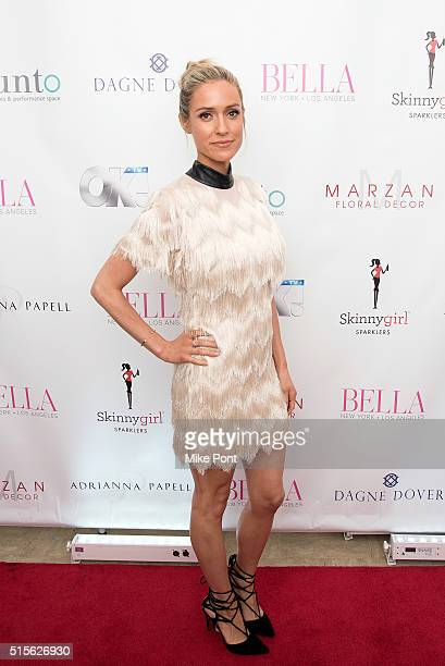 Kristin Cavallari attends the BELLA New York March/April 2016 Ladies Night Out cover launch party at Punto Space on March 14 2016 in New York City